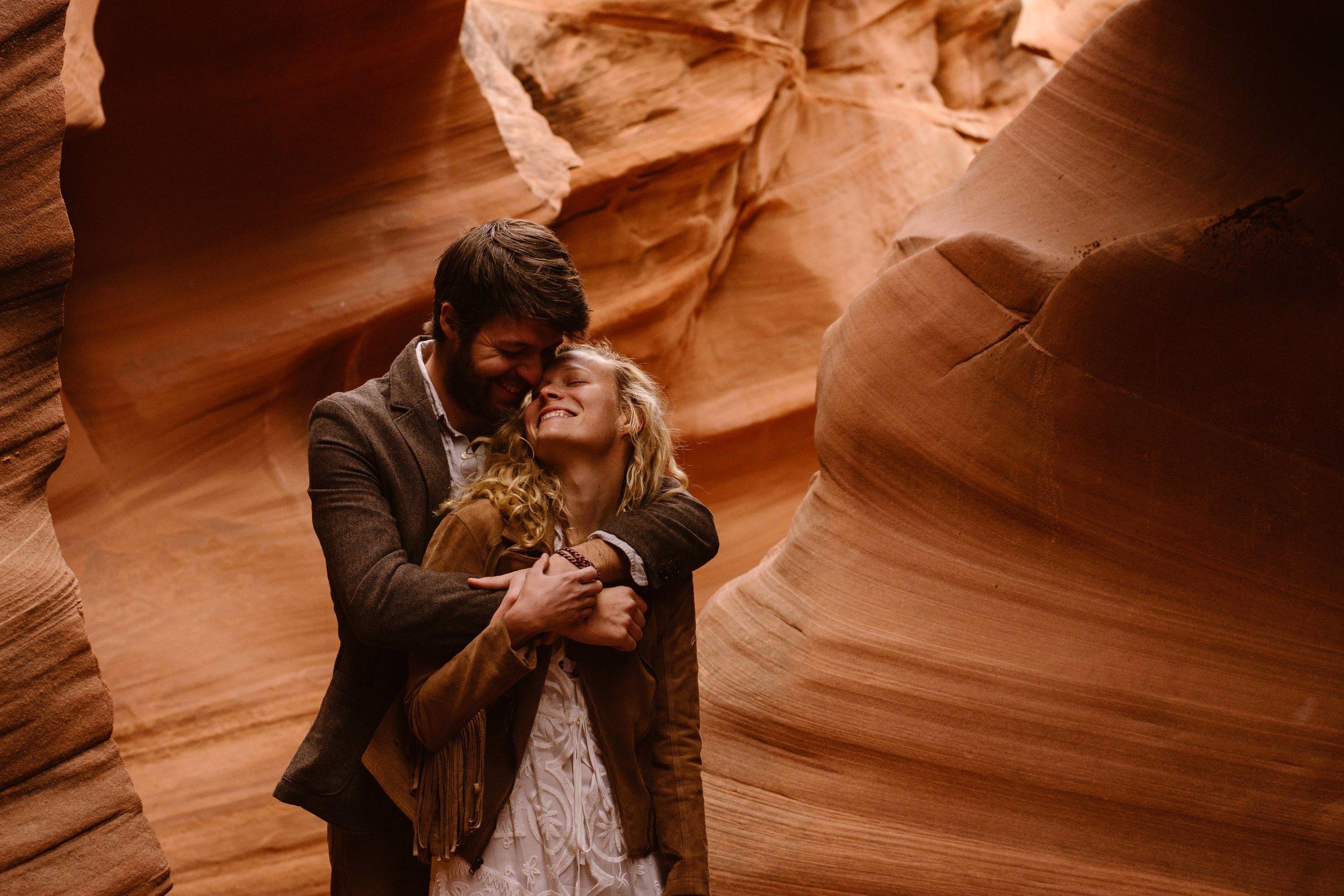 Antelope-Canyon-Wedding