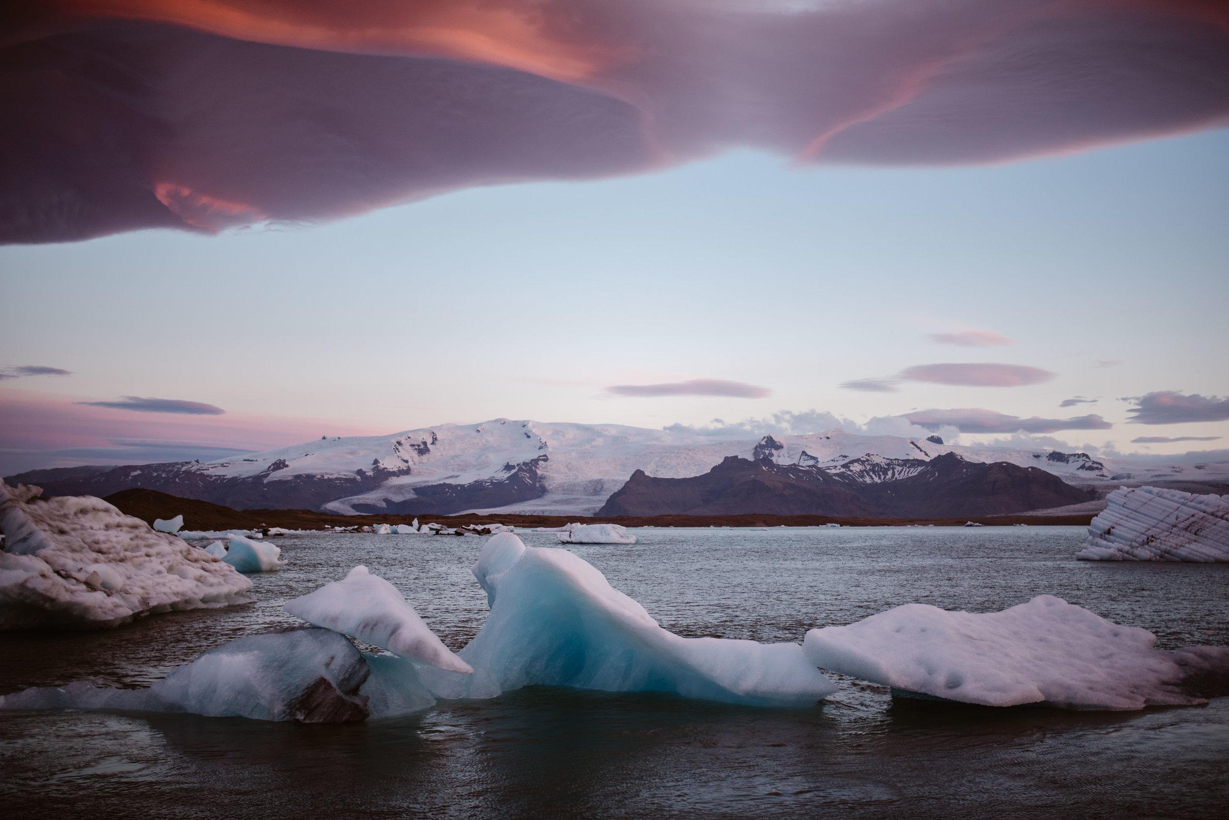 Jökulsárlón-Iceland-Elopement