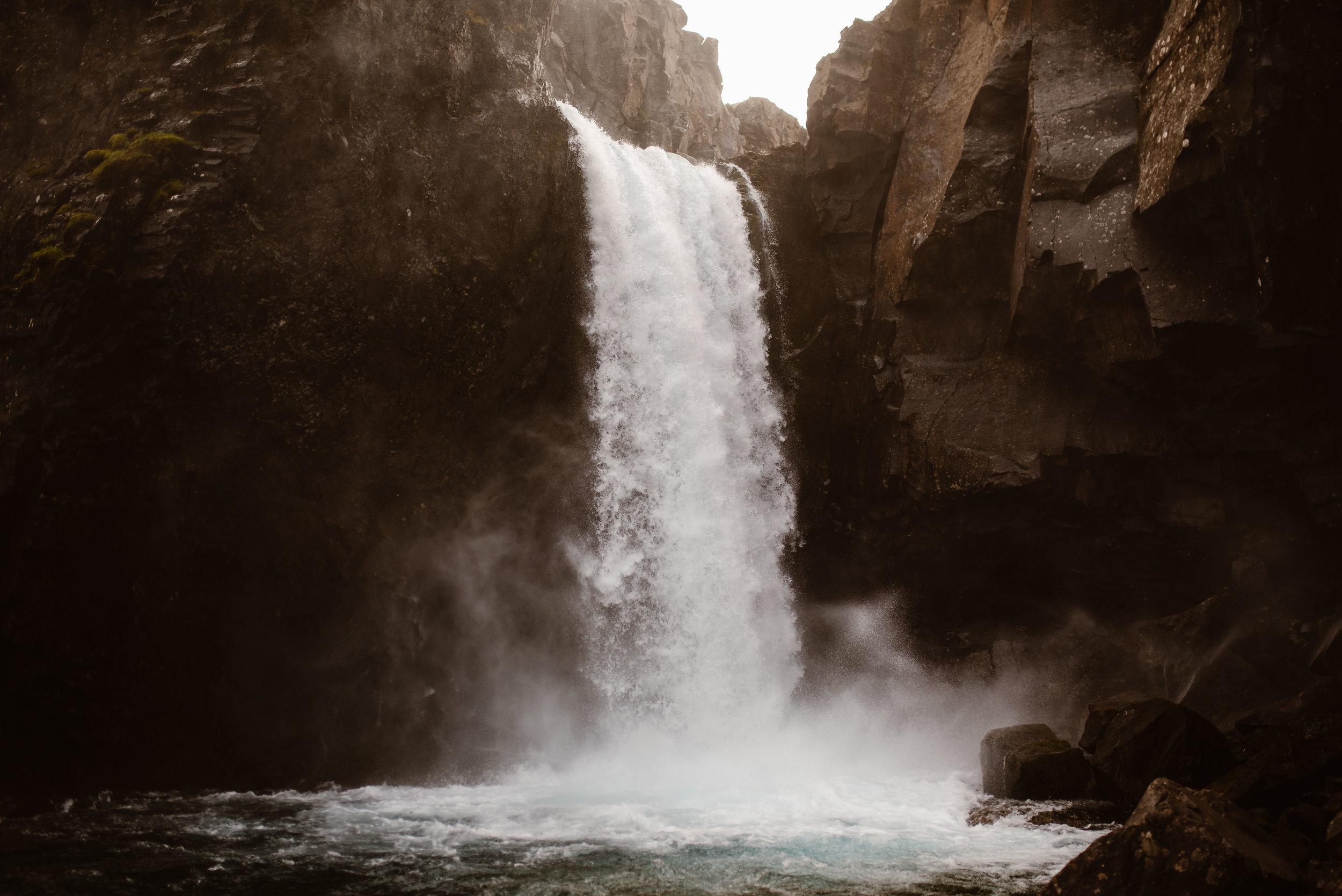 Hengifoss-Iceland-Hidden-Waterfall