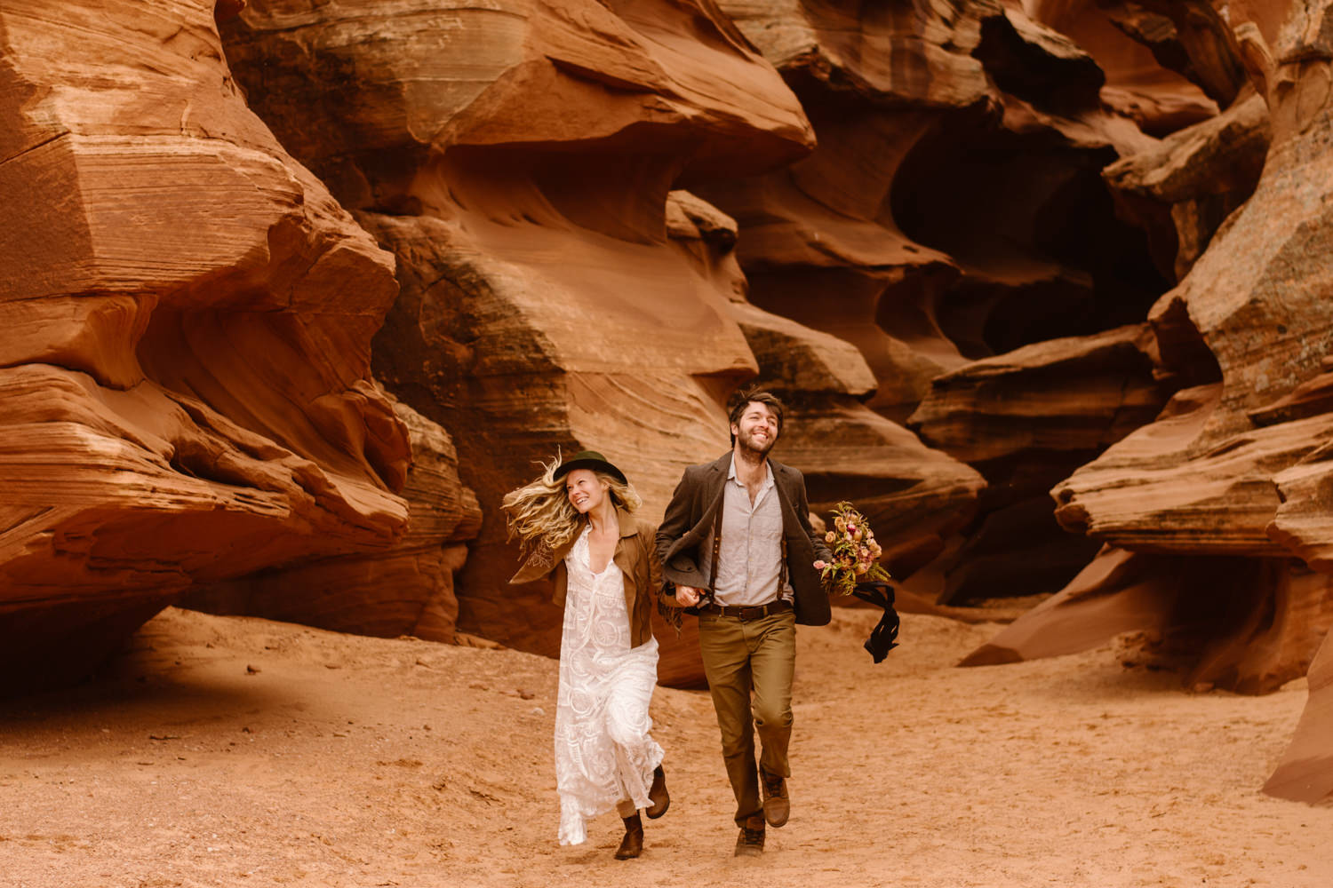 How to Elope in a Slot Canyon!