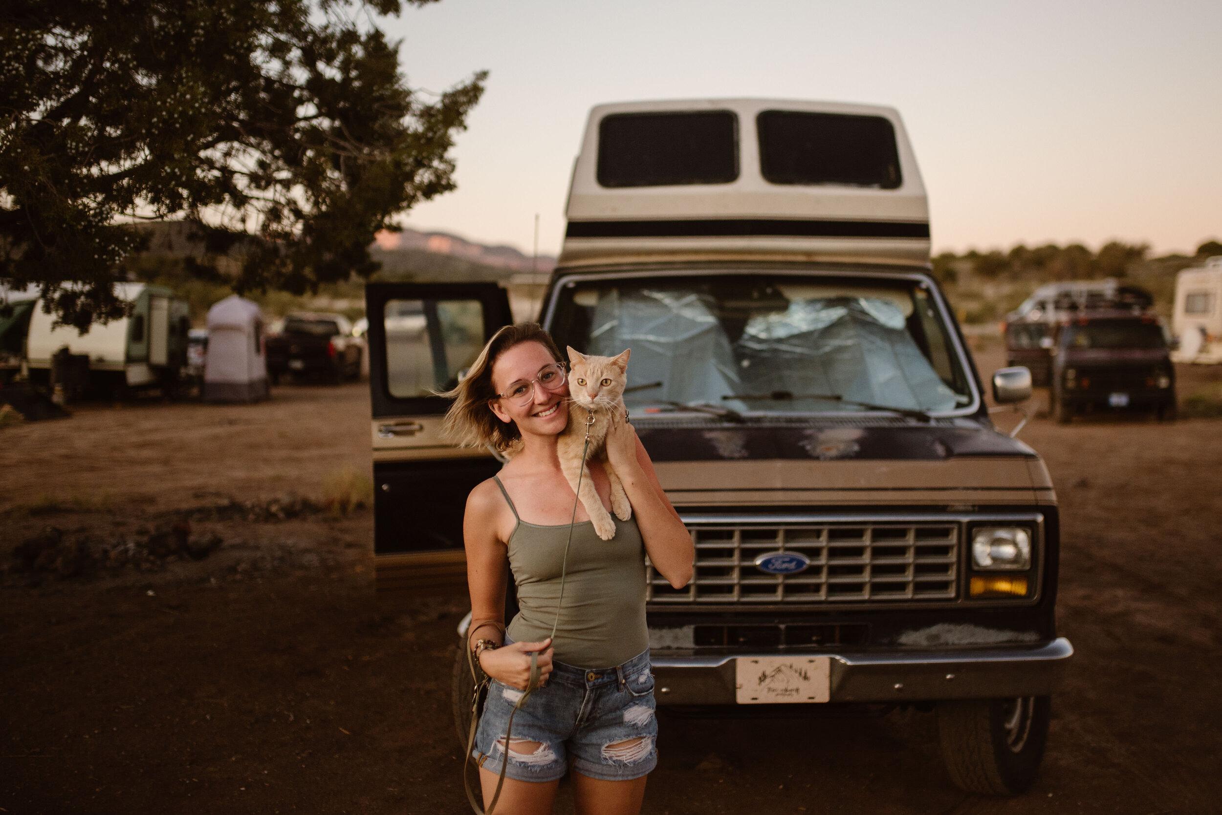 arizona-van-life-with-cat