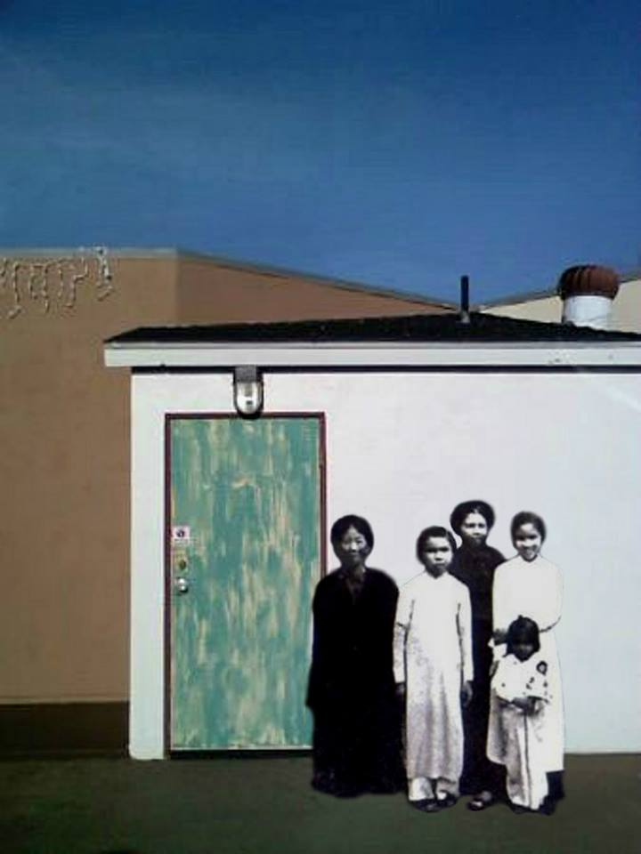 The Tran Women, 1952 @ Ocean Beach, San Diego, CA, 2011