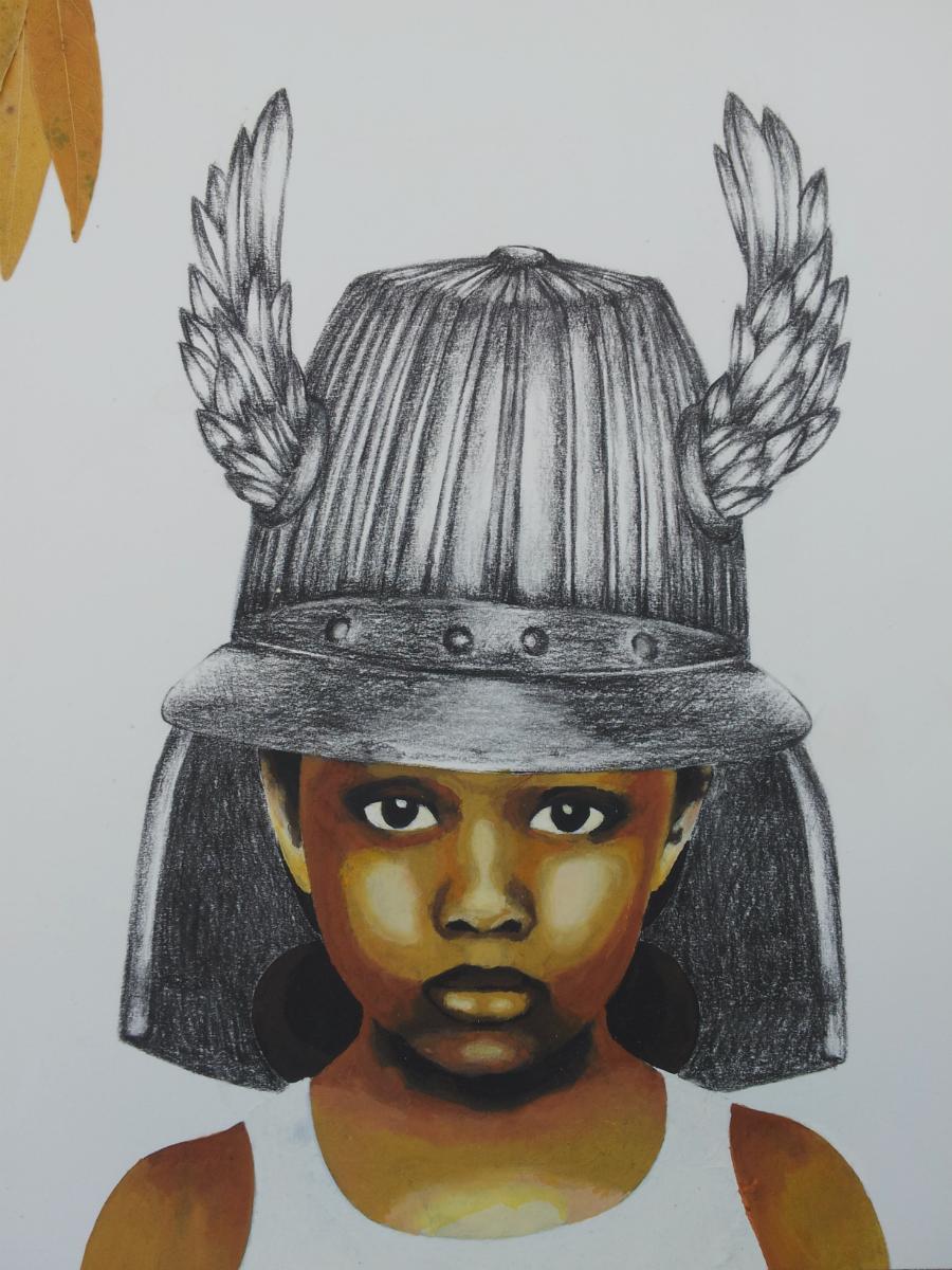 Little Warrior No. 2  - detail