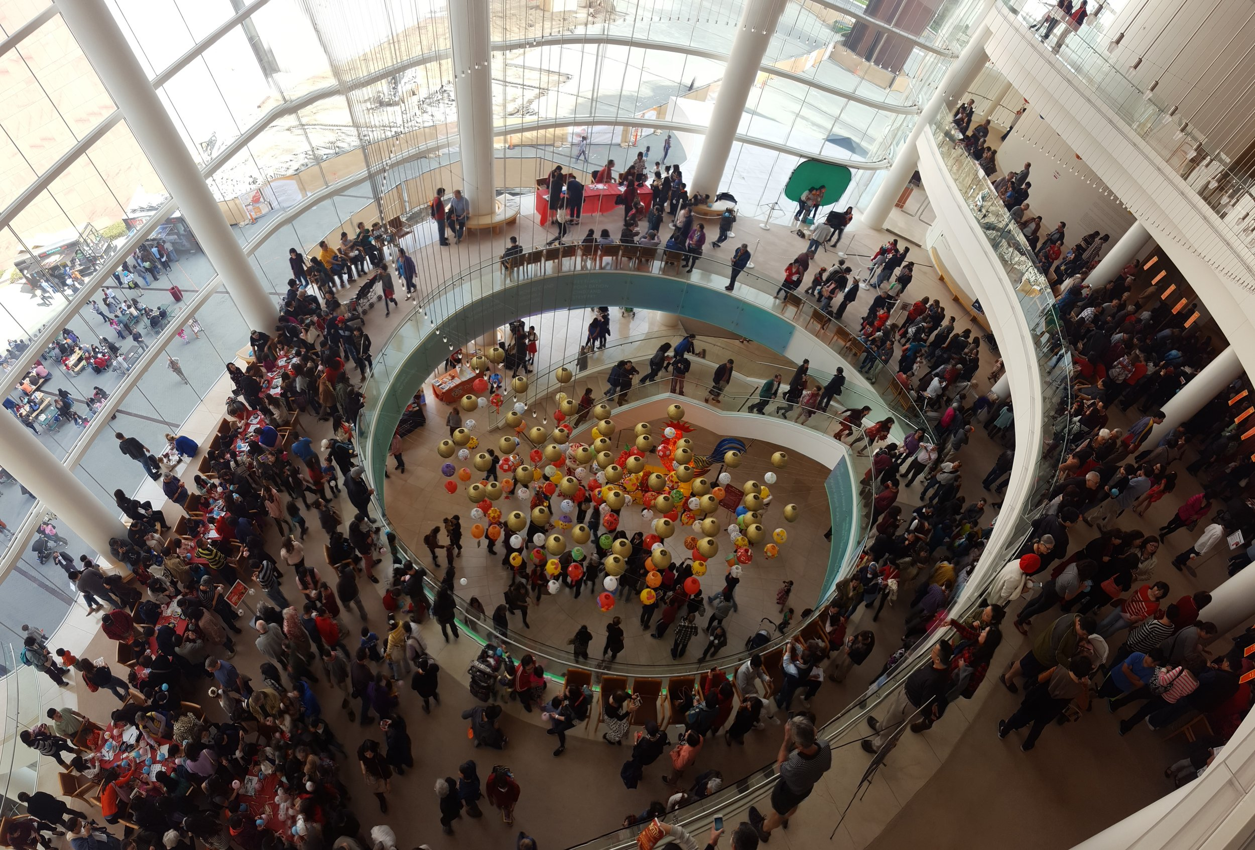 Over 4,300 people came to celebrate the Lunar New Year with us!