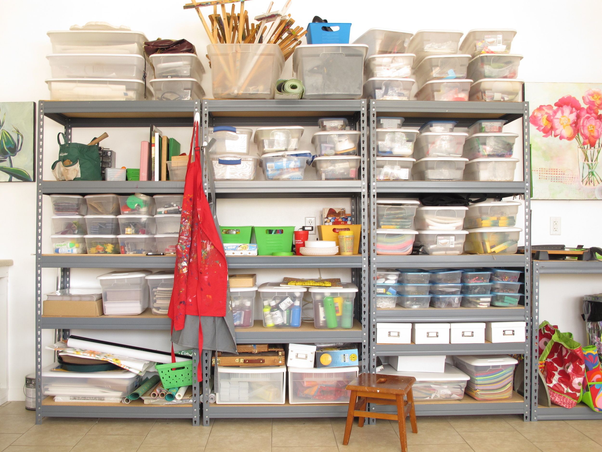 #2 Organization        is a must for        my creativity. -