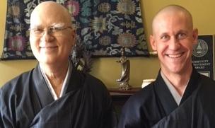 Zen priests, Yazan and Hondo.jpg