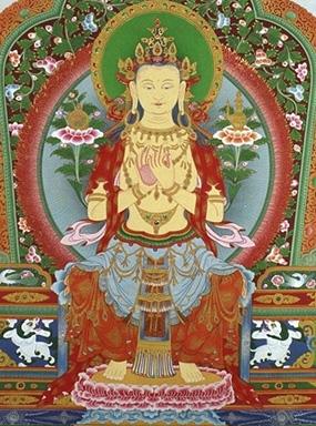 Maitreya Buddha, the Buddha of Loving-Kindness