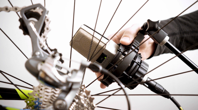 MUSIC FROM BICYCLE PARTS (music and video)