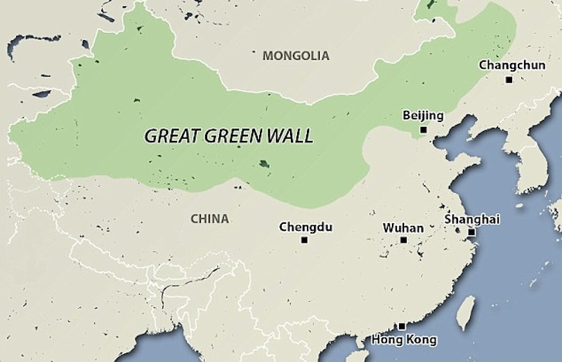 THE GREAT GREEN WALL (article/photos/video)