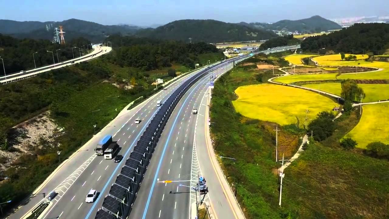 KOREAN SOLAR BIKE TRAIL (drone footage)
