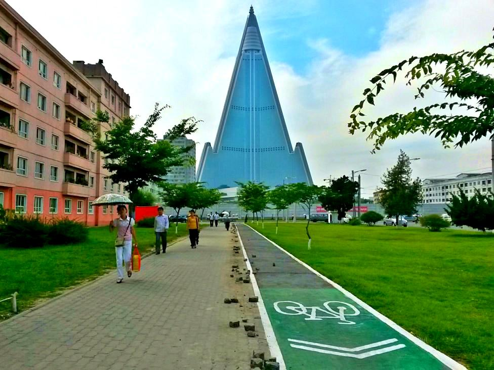 BIKE LANES IN NORTH KOREA (article)