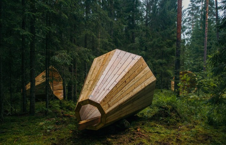 ESTONIAN FOREST MEGAPHONES (photo essay)