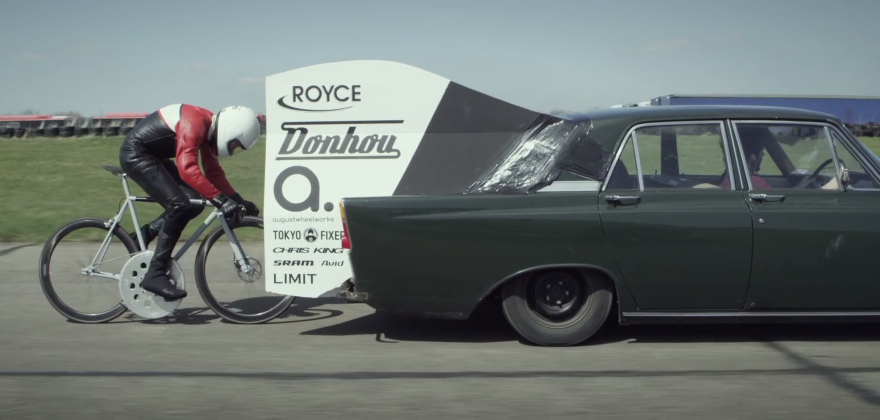 THE 80MPH BICYCLE (video)