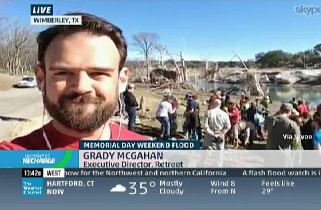 Live Nationwide Interview with The Weather Channel (video link)