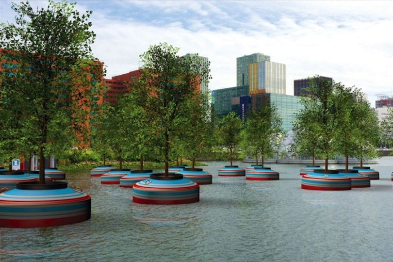 THE FLOATING FOREST OF ROTTERDAM (article)