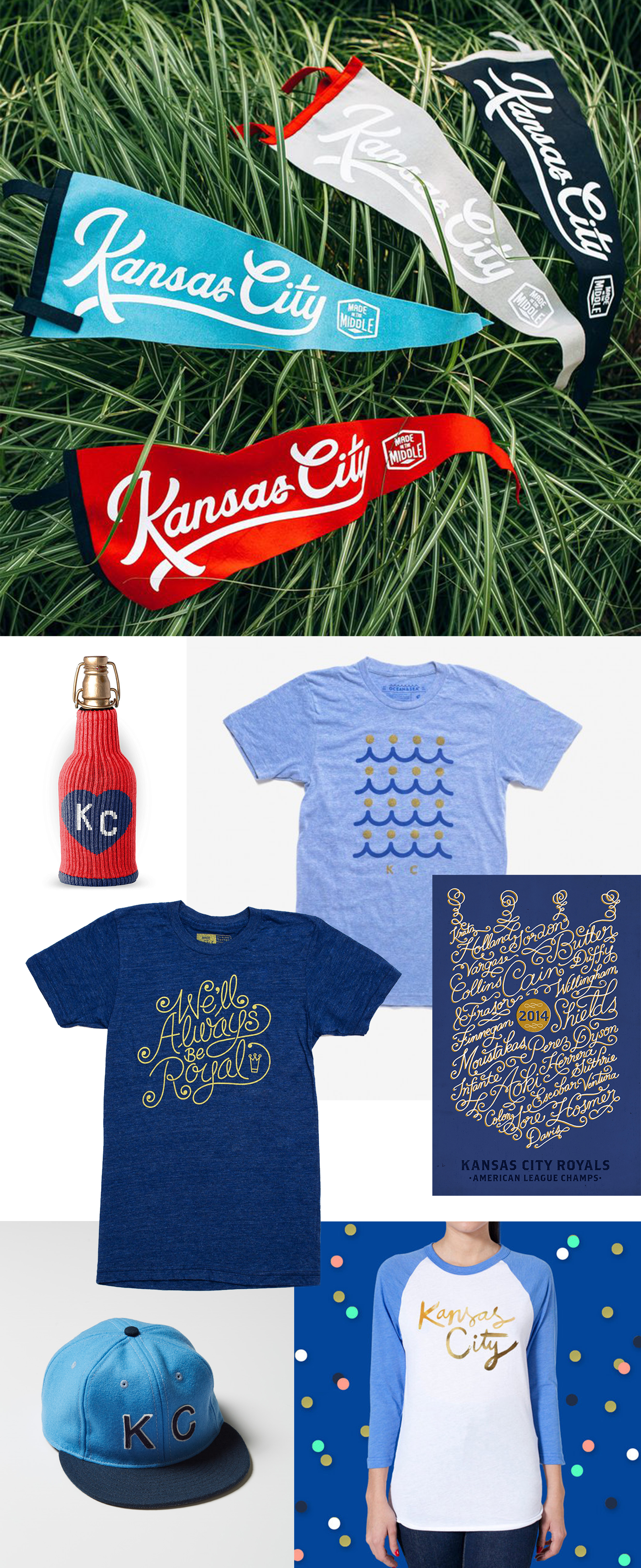 Letters Are Lovely   Go Royals!