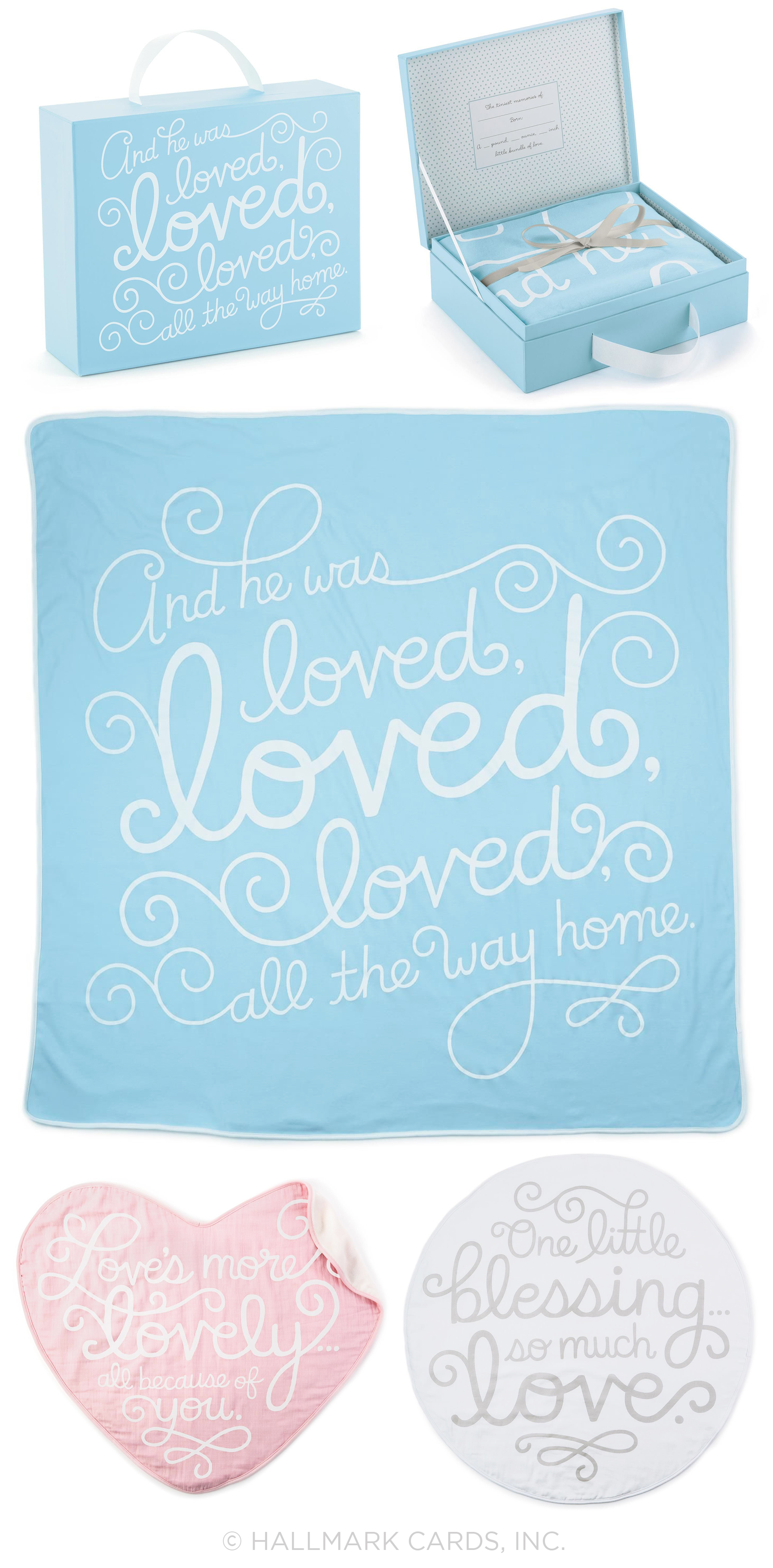 Letters Are Lovely | Baby Blanket Lettering