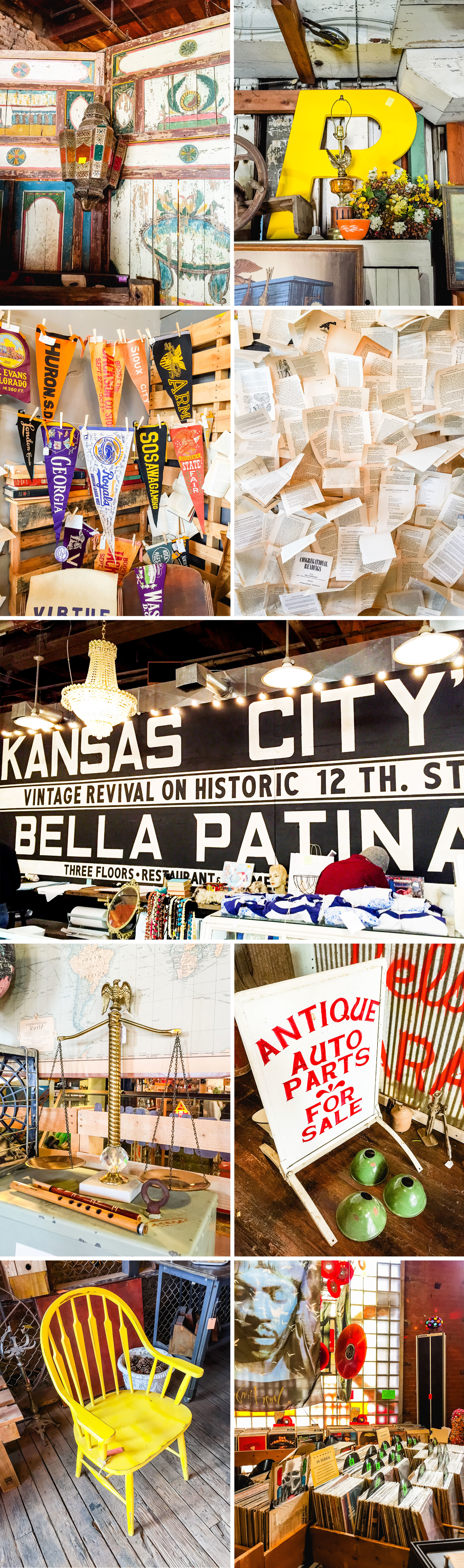 Letters Are Lovely | Antiquing in KC