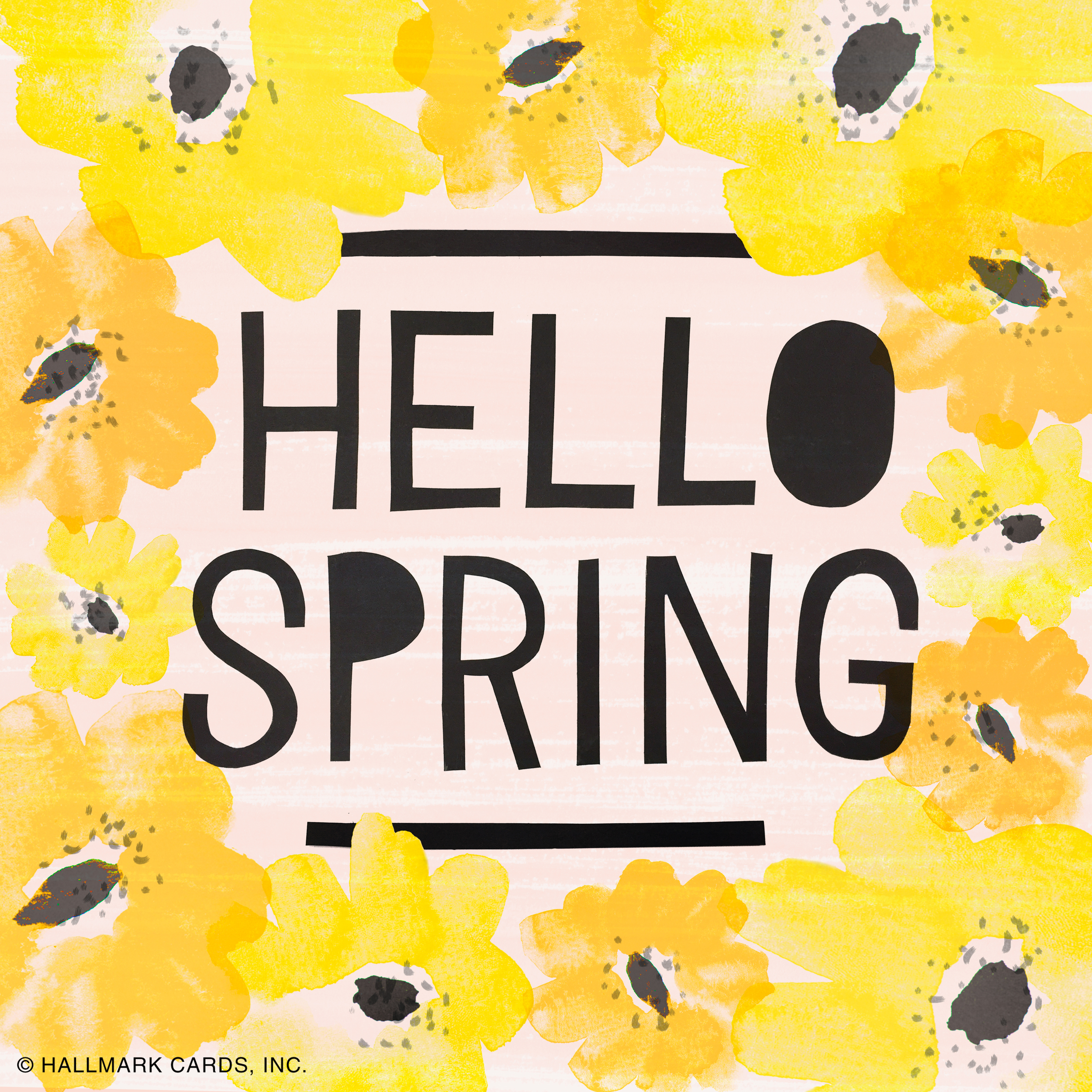 Letters Are Lovely | Hello Spring Lettering for Think.Make.Share.