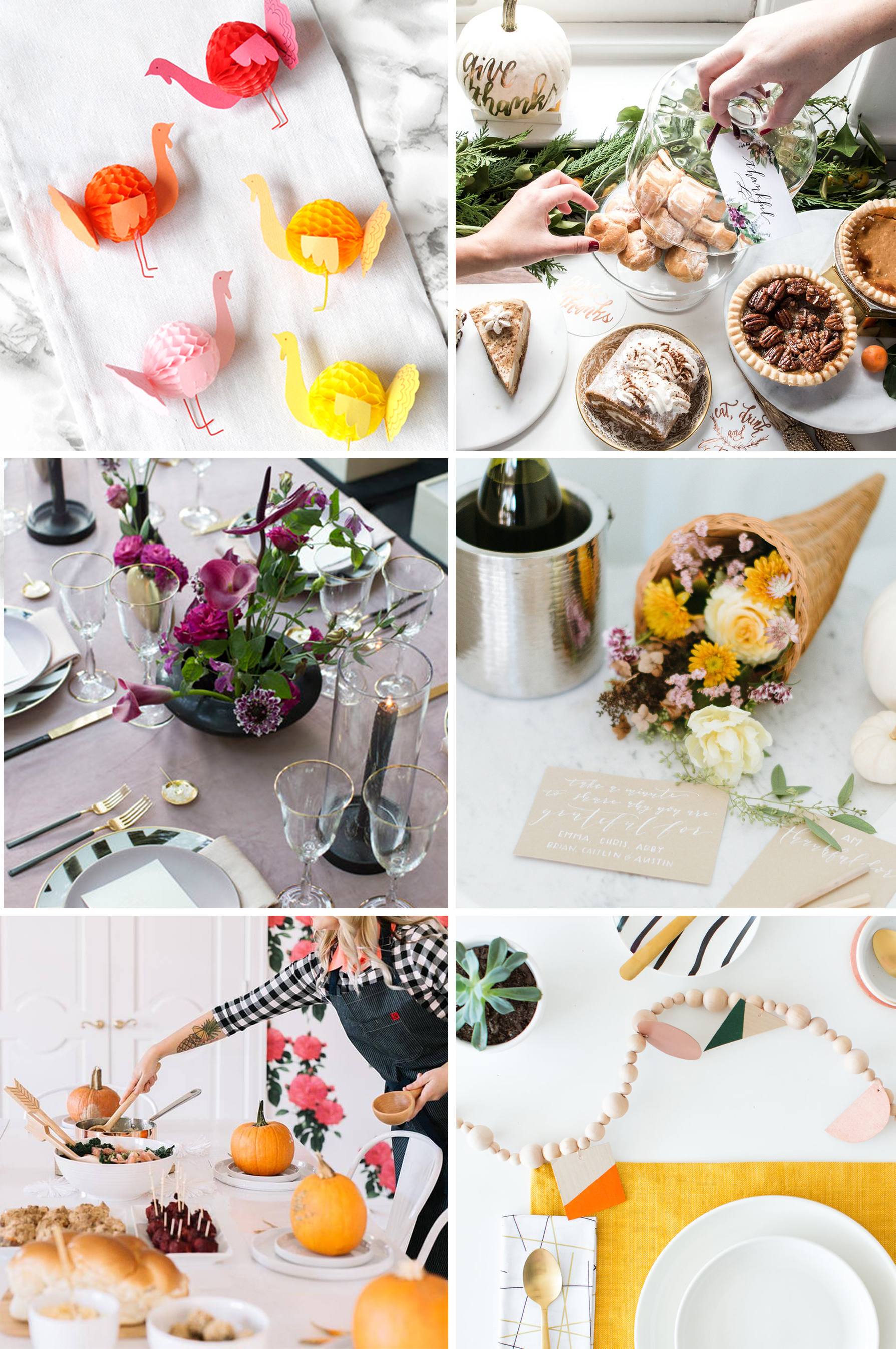 Letters Are Lovely | Thanksgiving Inspiration Roundup