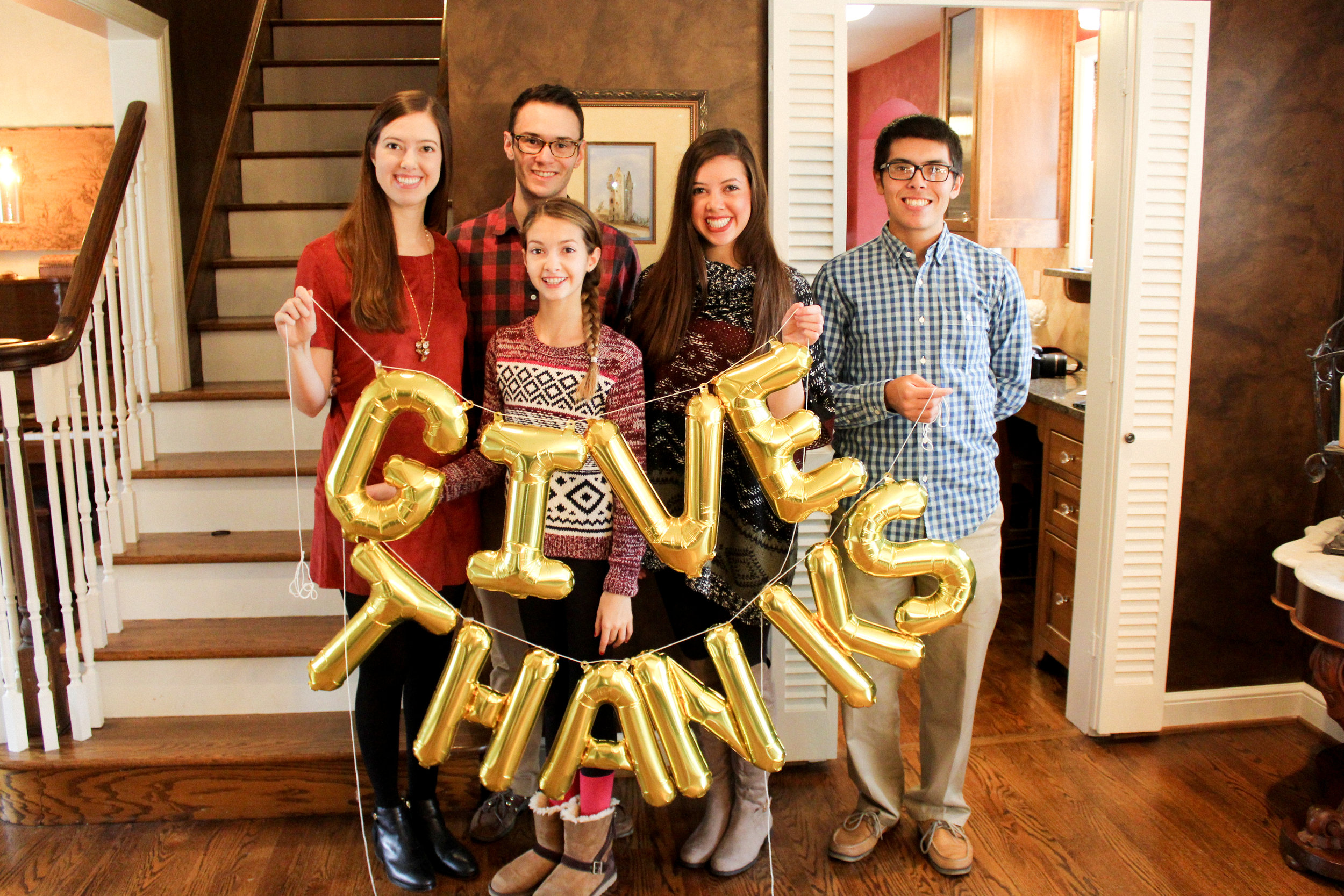 Letters Are Lovely | Thanksgiving Snapshots