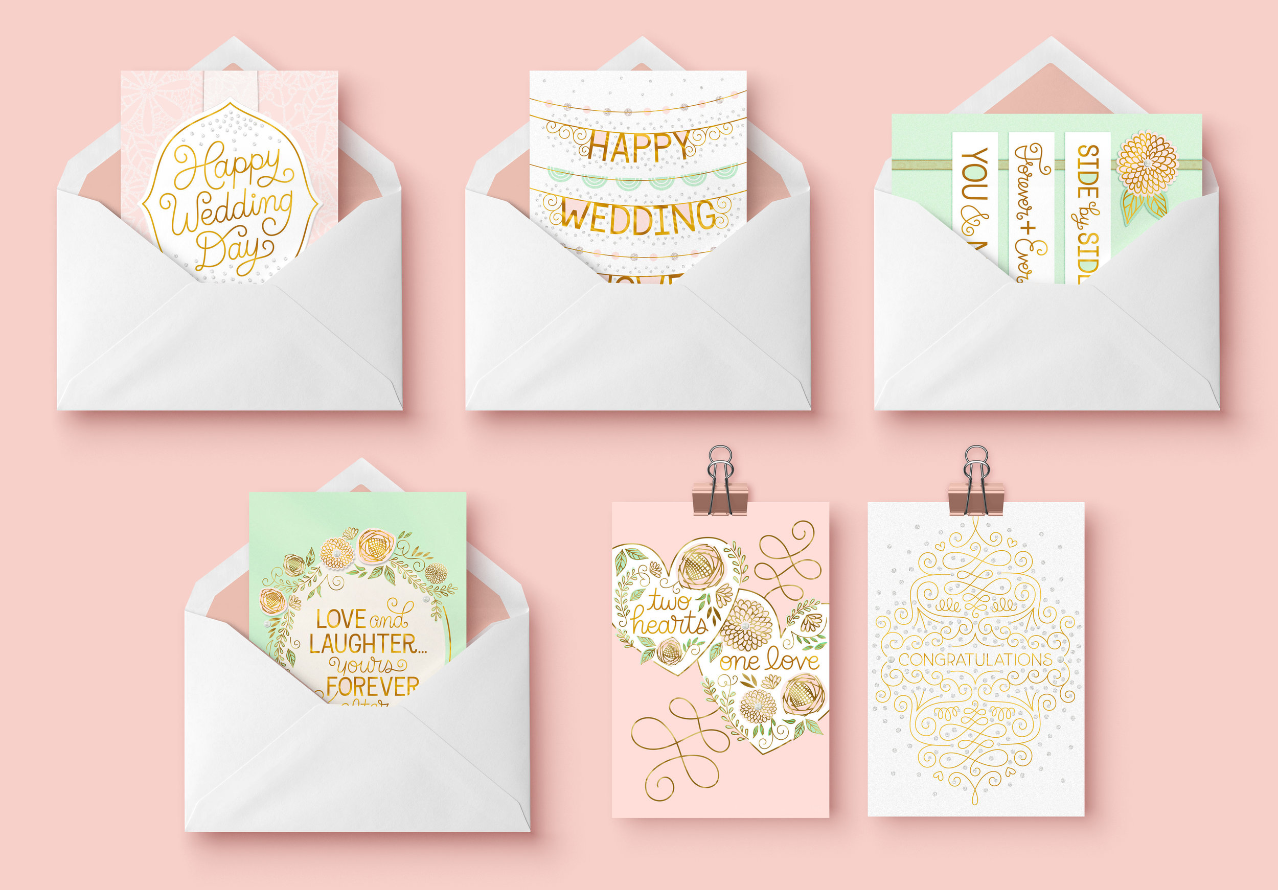 Letters Are Lovely | Allie Smith Wedding Collection for Hallmark Gold Crown