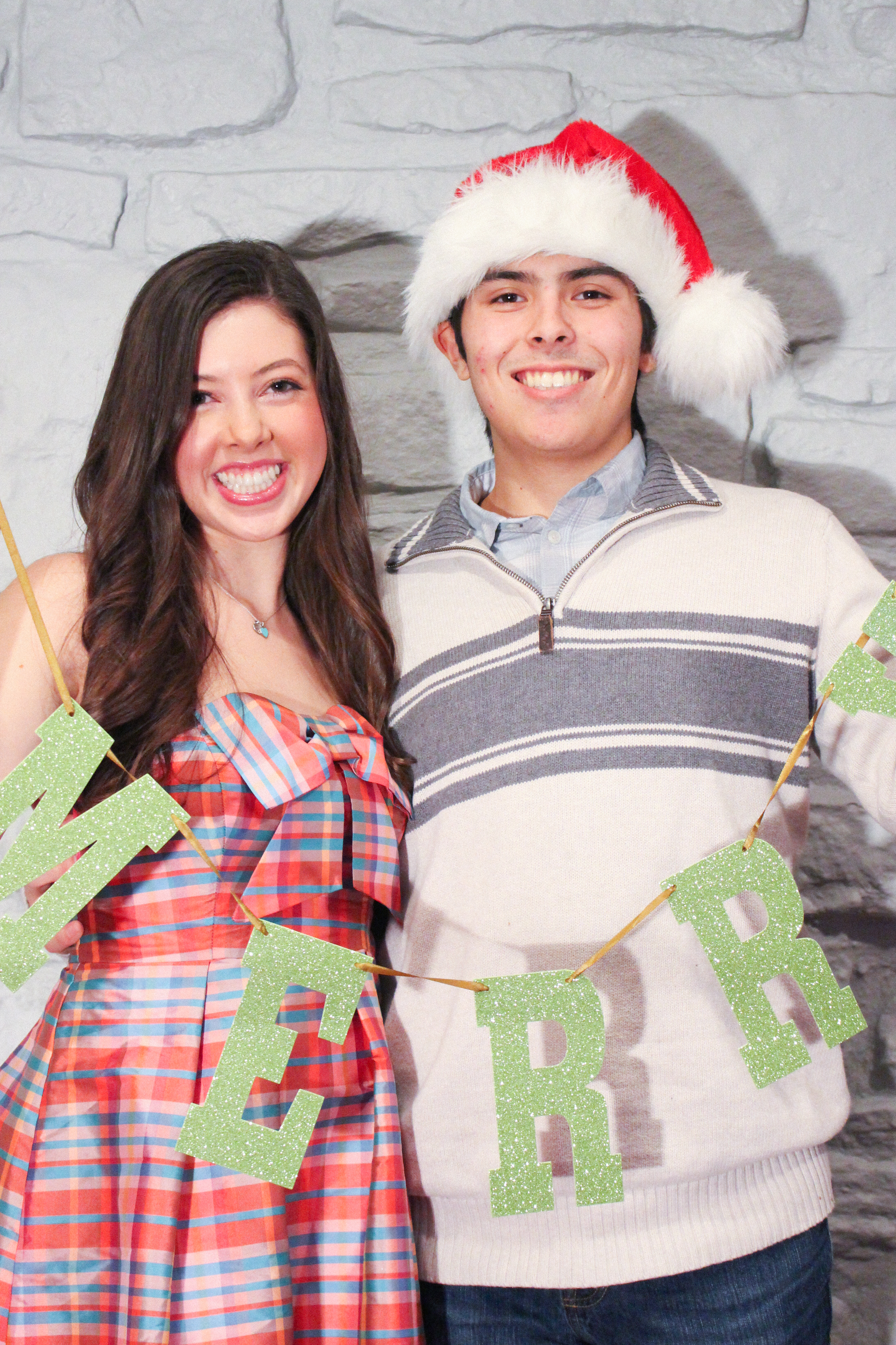 Letters Are Lovely | Christmas Eve Photo Booth 2016