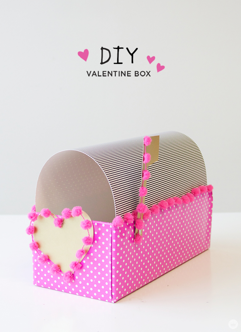 Letters Are Lovely | DIY Valentine Box for Think.Make.Share.
