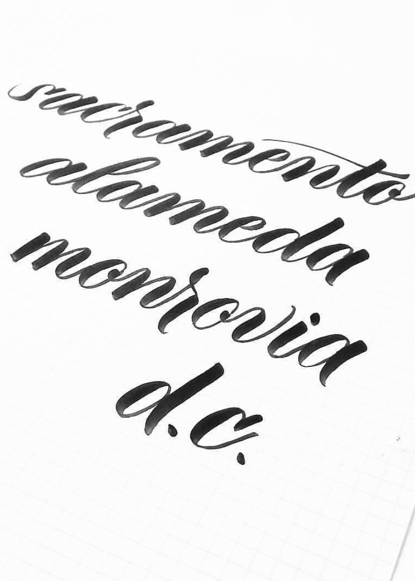 Pieces Calligraphy
