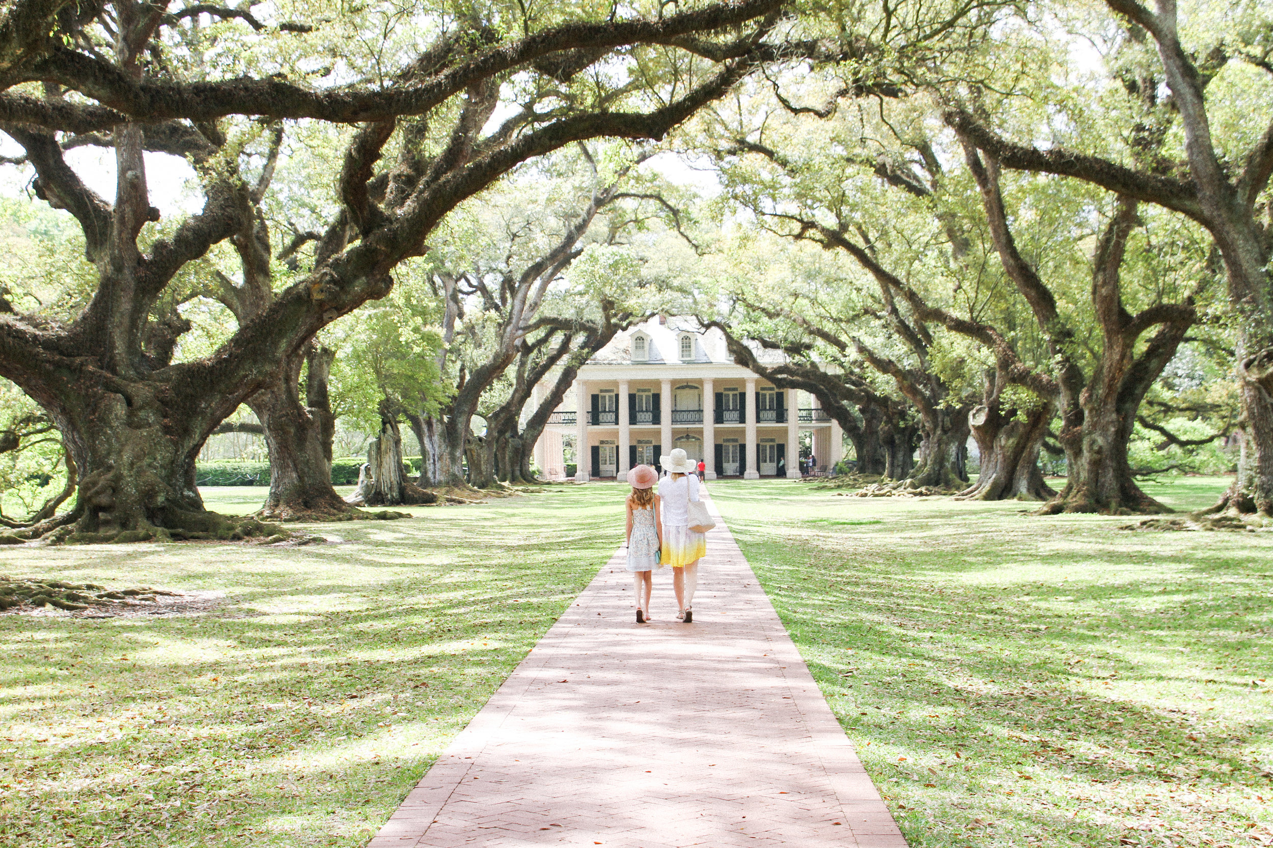 Letters Are Lovely   New Orleans: Oak Alley Plantation