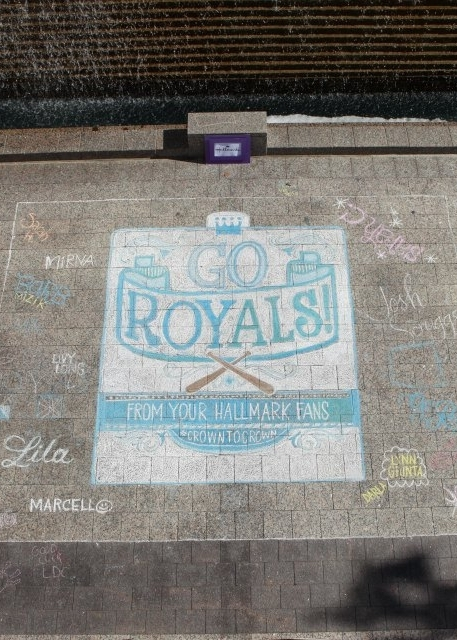 Letters Are Lovely | Royals Chalk Lettering