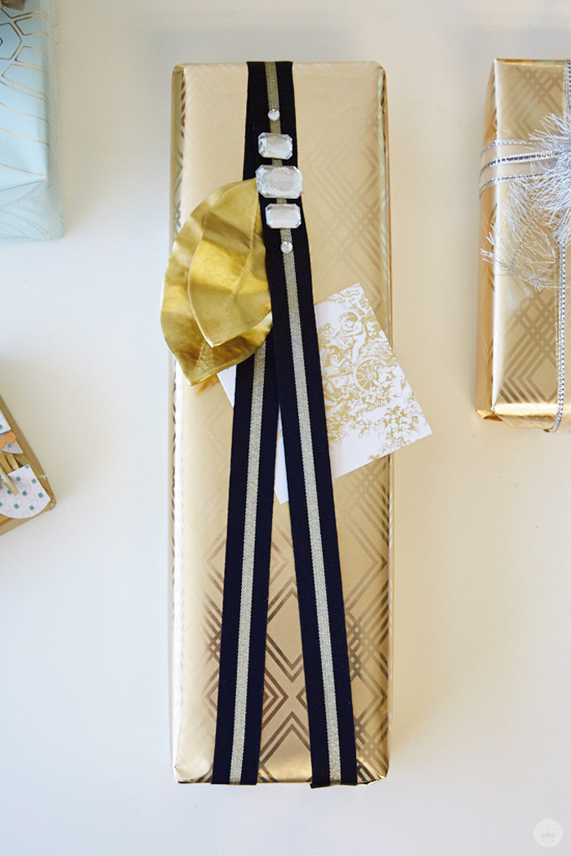 Letters Are Lovely   Wedding Gift Wrap Ideas from Think.Make.Share.