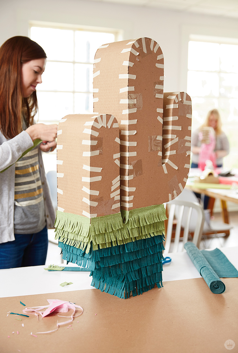 Letters Are Lovely | Piñata Tips from Think.Make.Share.