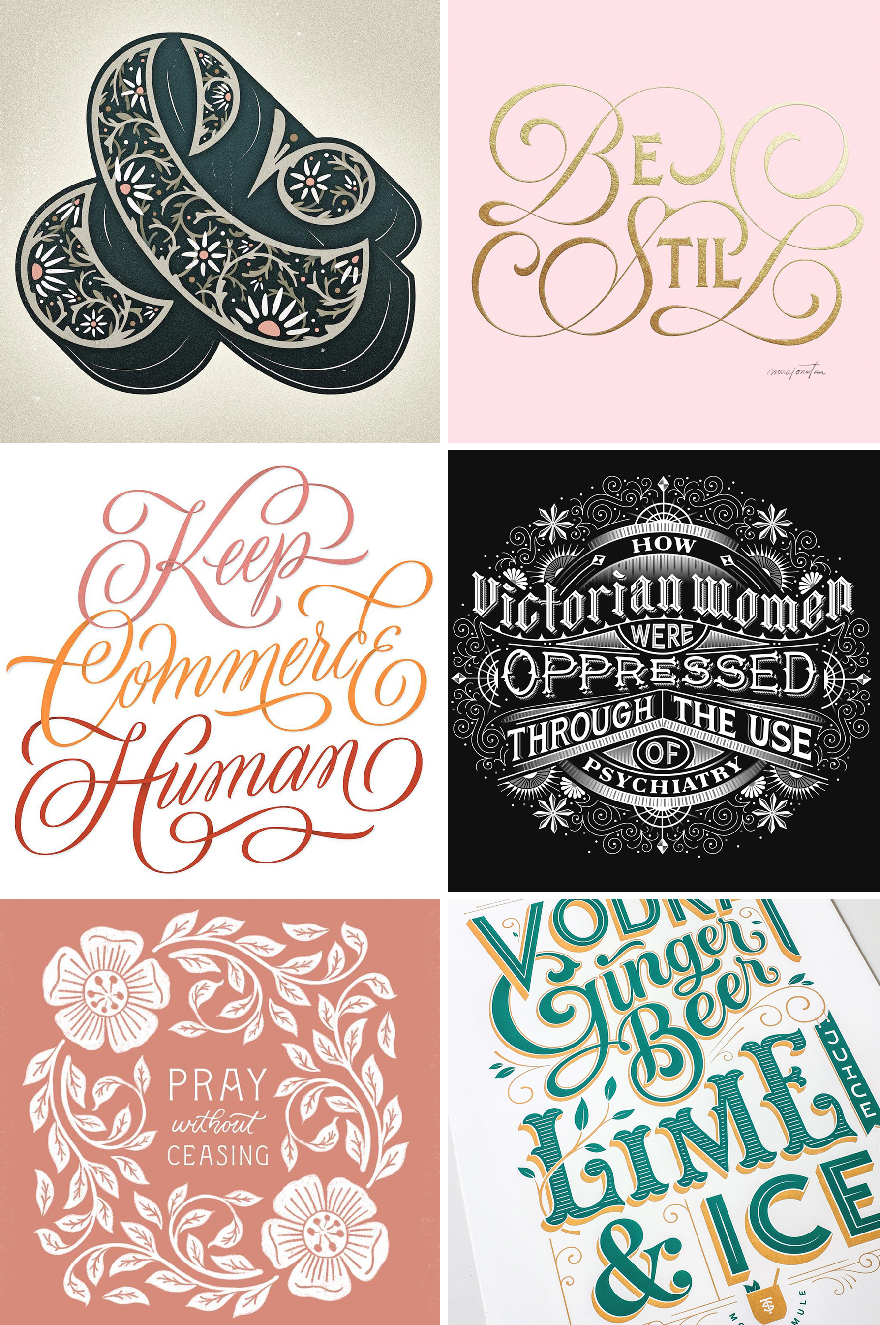 Letters Are Lovely | Lettering Inspiration from Instagram