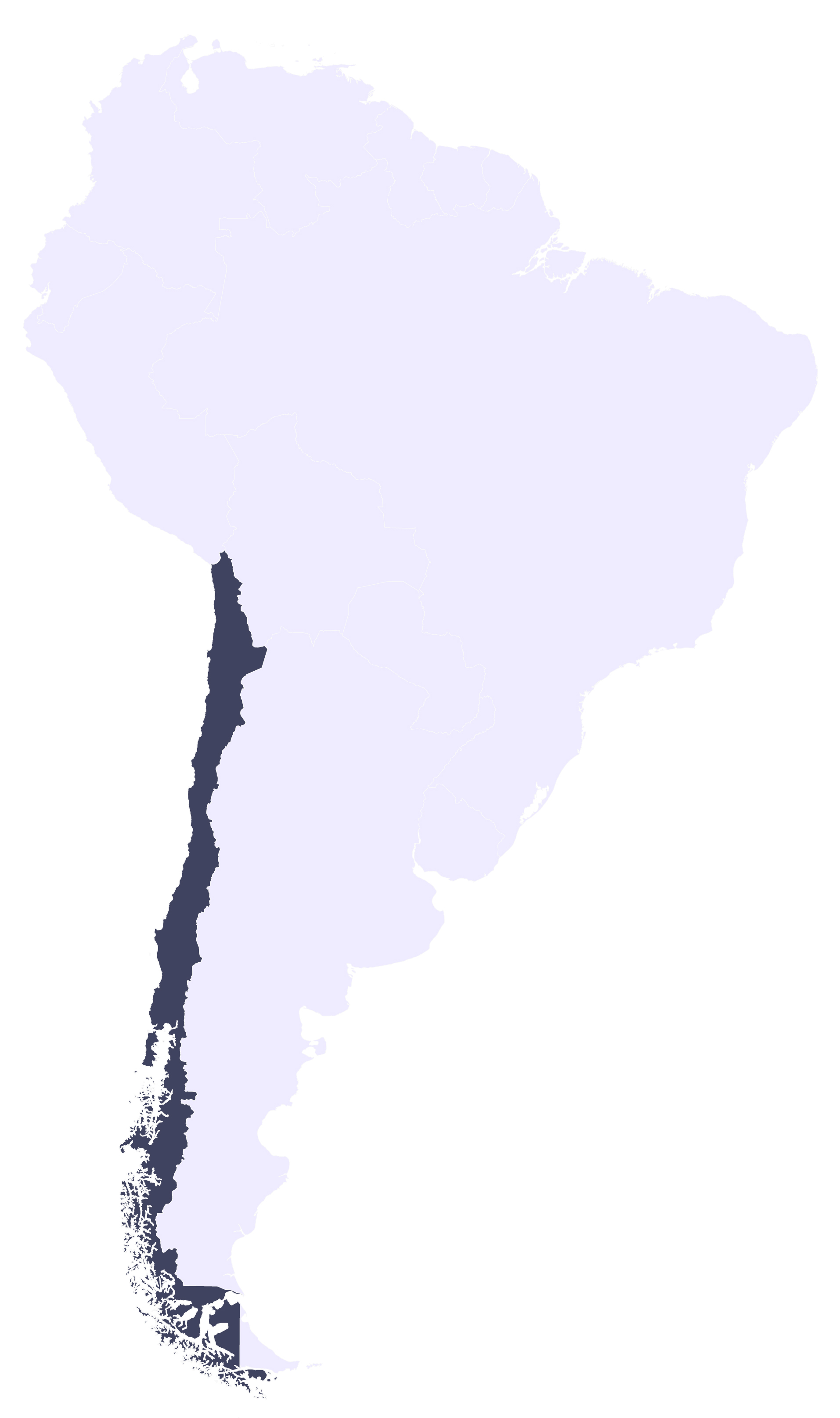 Letters Are Lovely | Travel Map:  South America