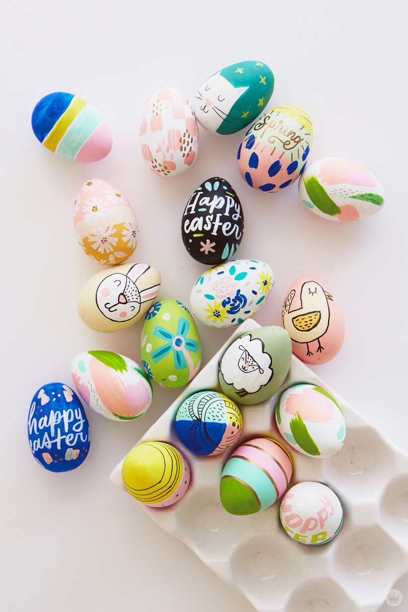 Letters Are Lovely | Easter Eggs for Think.Make.Share.