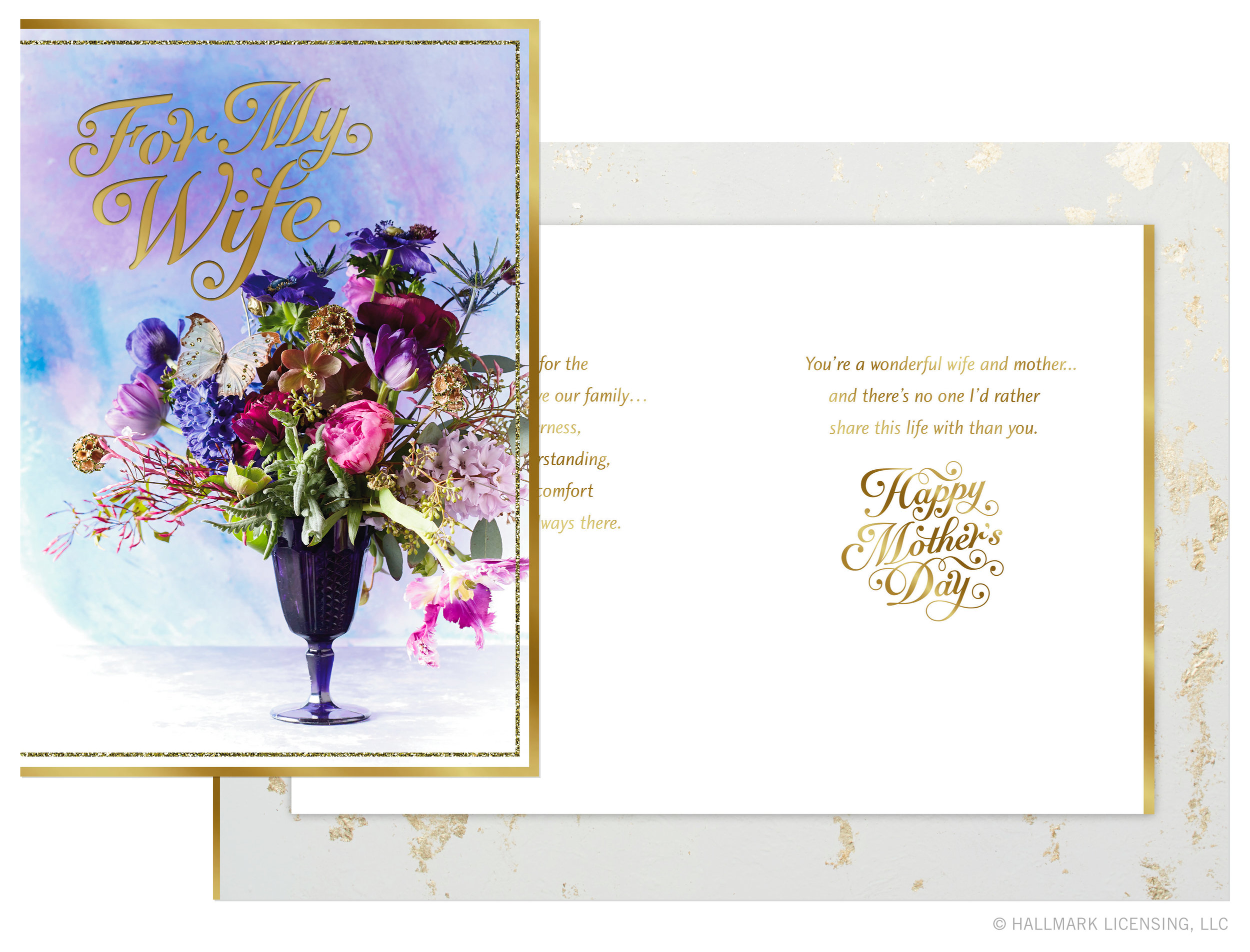 Letters Are Lovely   Mother's Day Cards — Gilded Photo