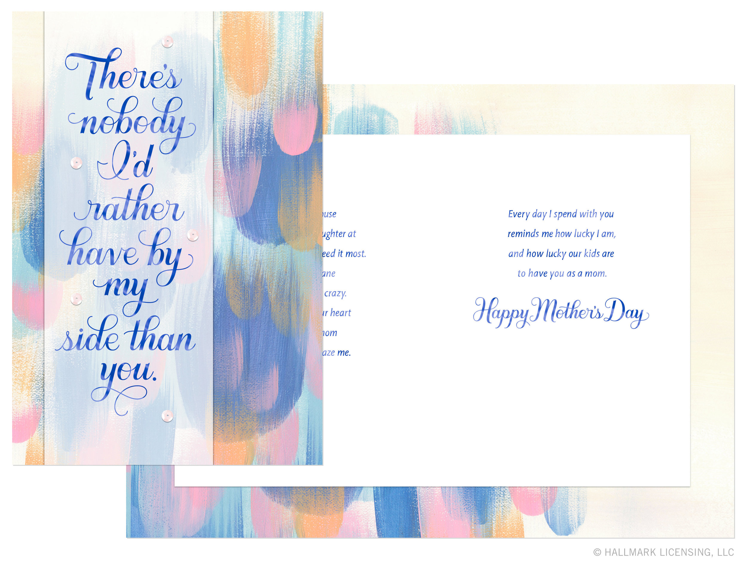 Letters Are Lovely | Mother's Day Cards — Abstract Backgrounds