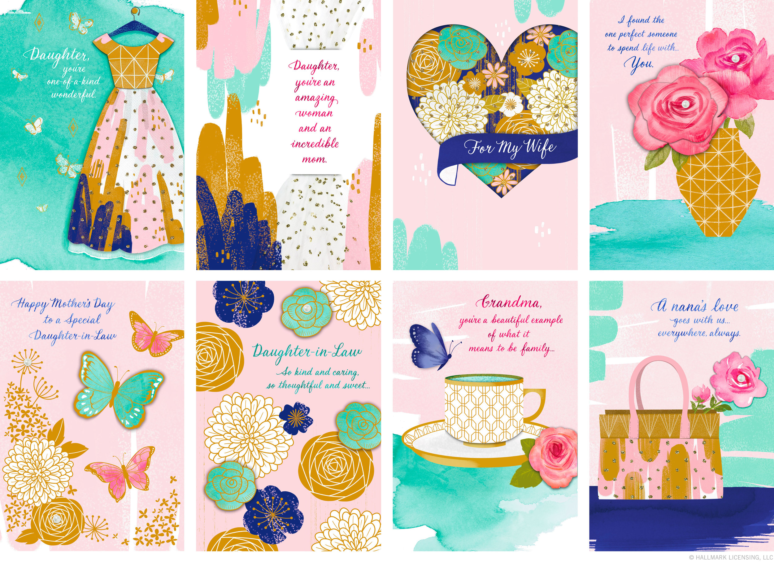Letters Are Lovely | Mother's Day Collection for Hallmark