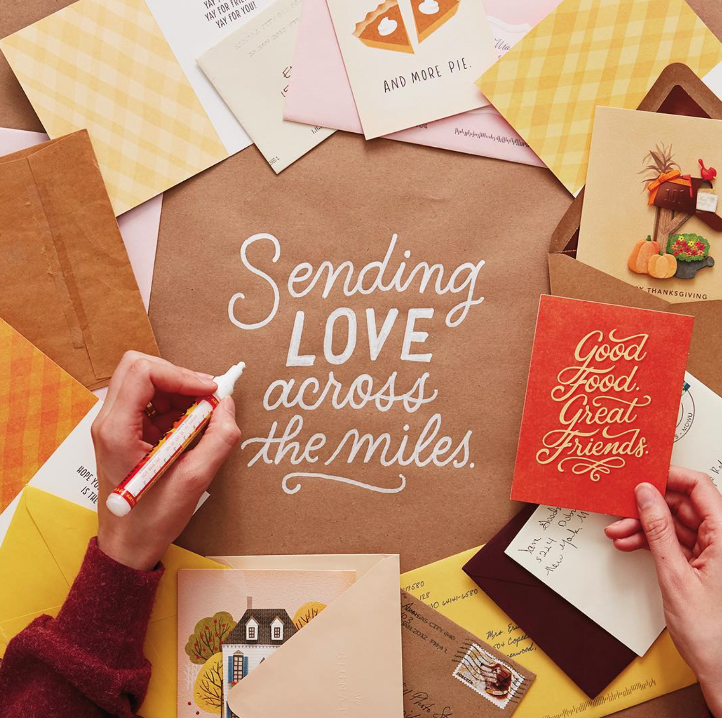 Letters Are Lovely | Snail Mail Lettering for Think.Make.Share.