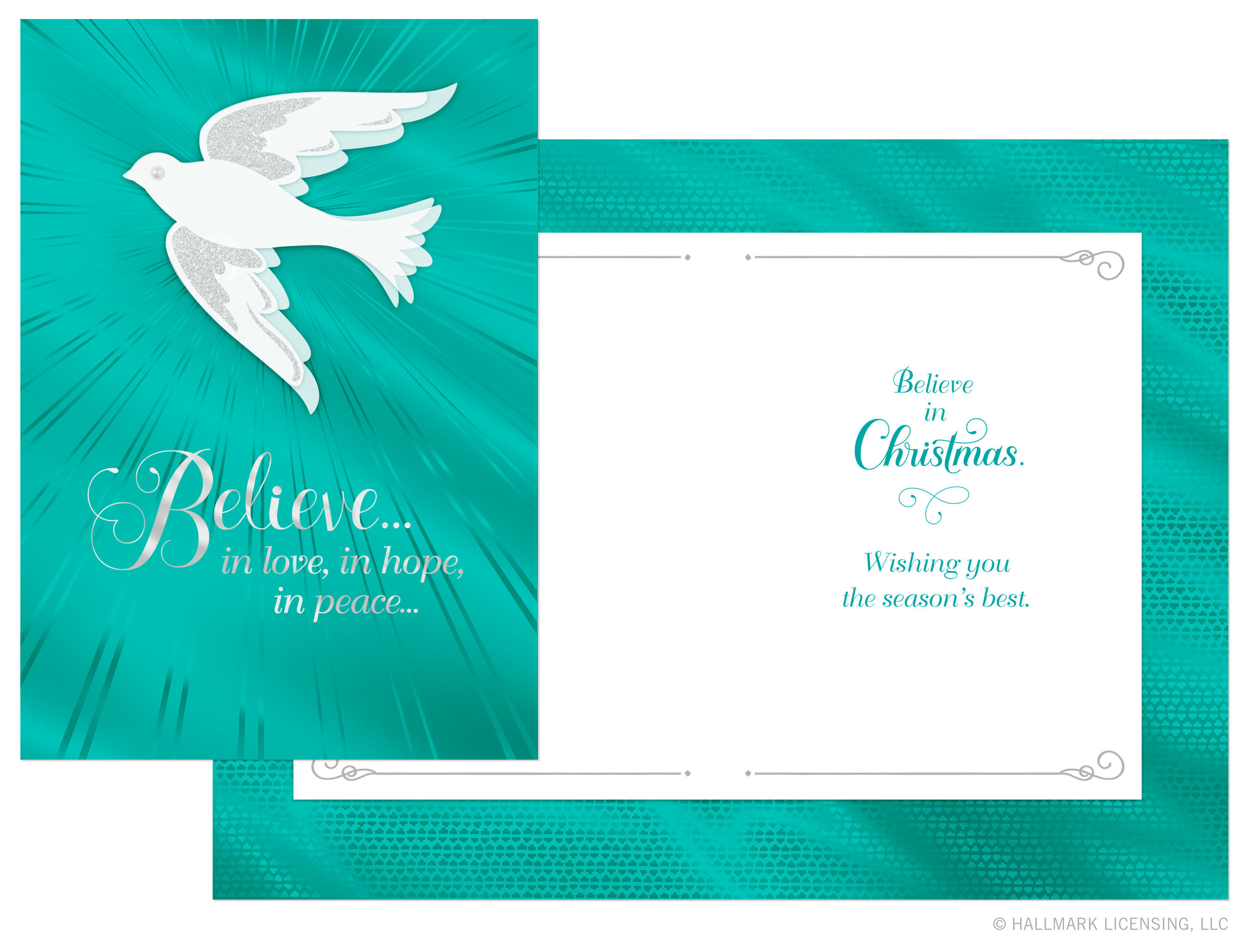Letters Are Lovely | Christmas Cards for Hallmark: Part Two