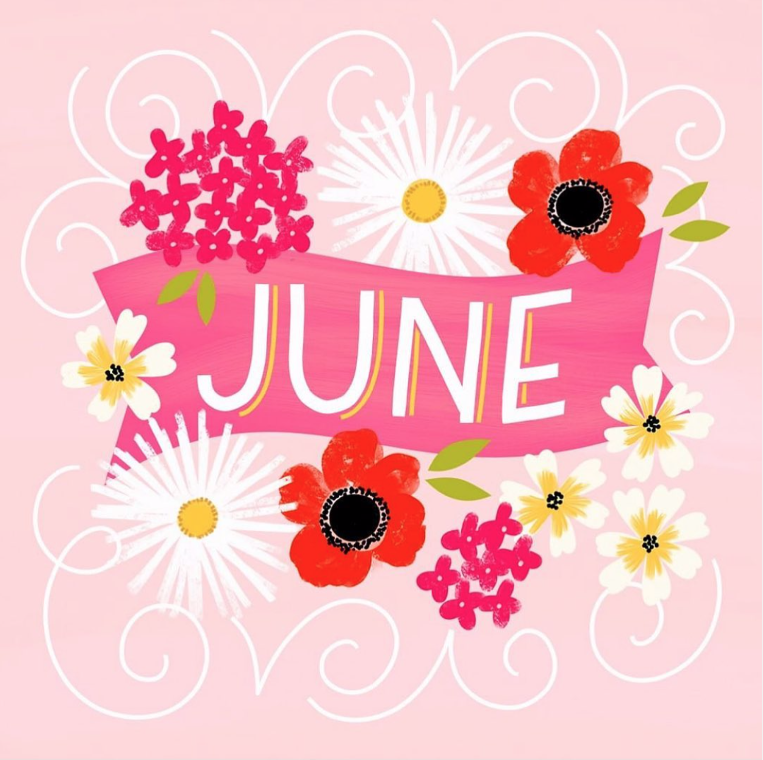 Letters Are Lovely | Hello, June!