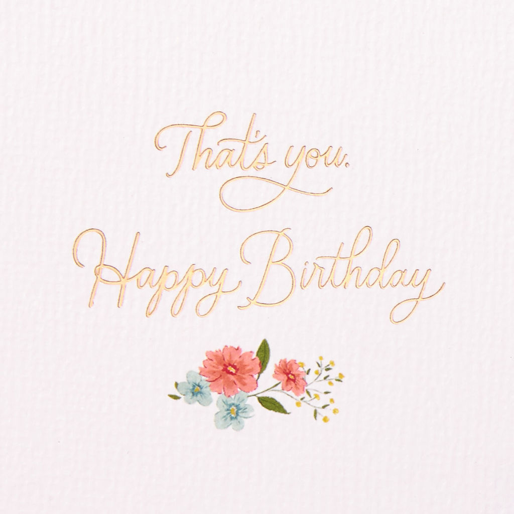 Letters Are Lovely | Hallmark Signature Birthday Card