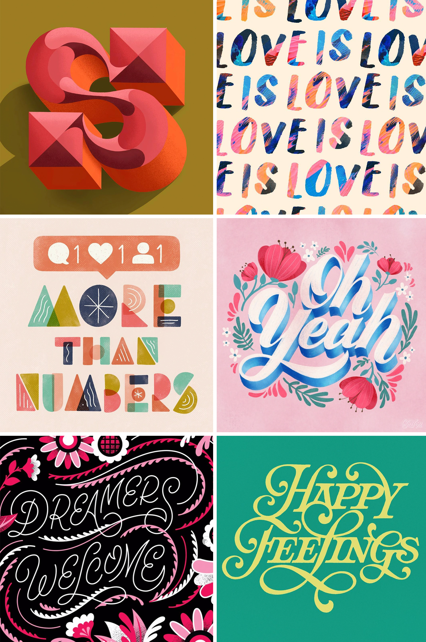 Letters Are Lovely | Instagram Roundup: Lettering