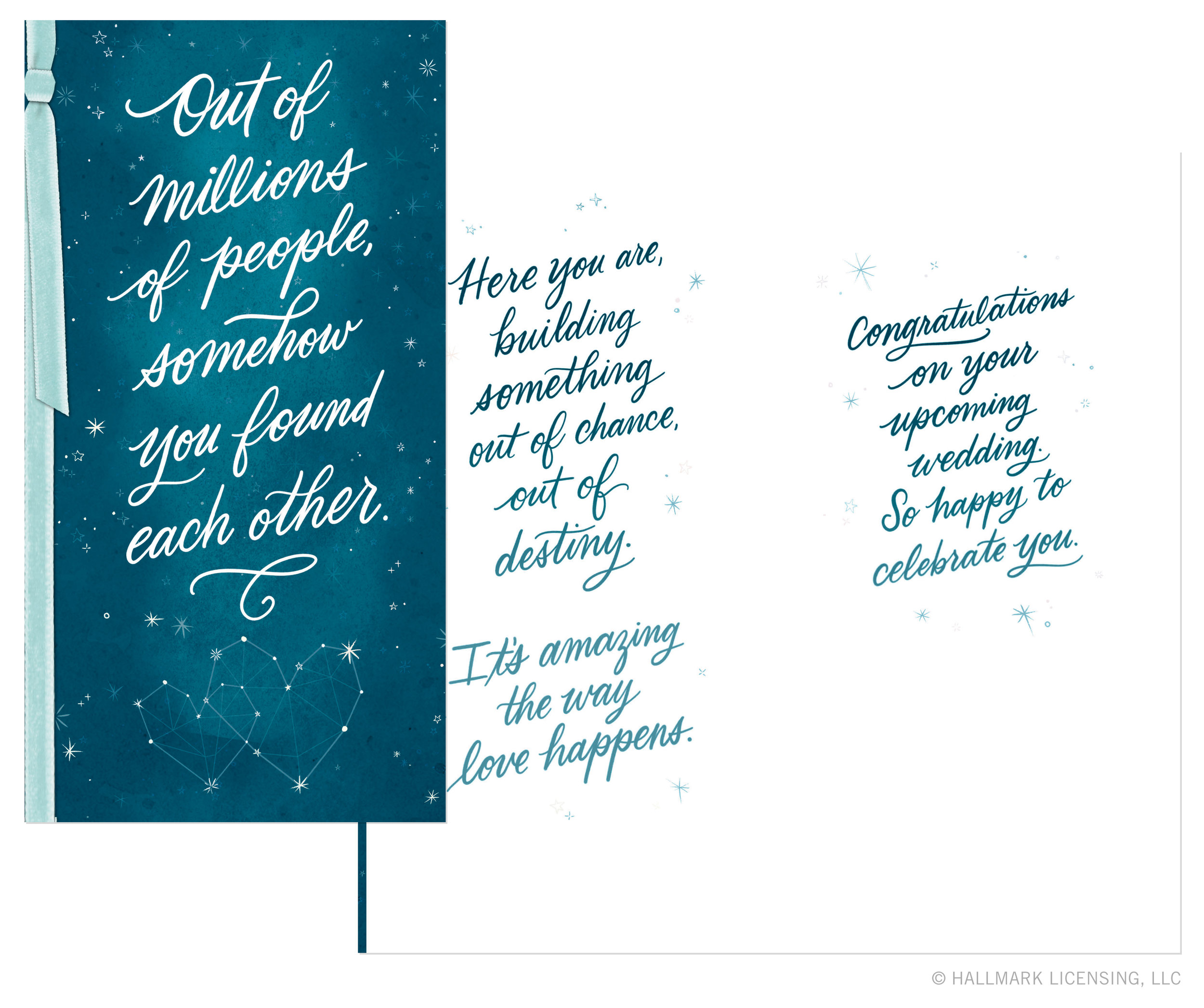 Letters Are Lovely | Anniversary Card for Hallmark