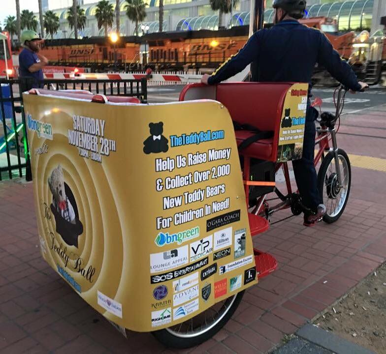 VIP Outdoor Media Pedicab The Teddy Ball 2016 3.jpg