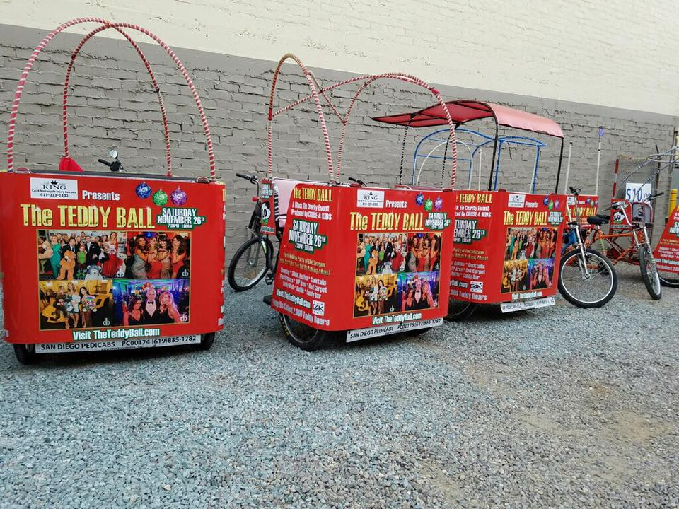 VIP Outdoor Media Pedicab The Teddy Ball 1.jpg