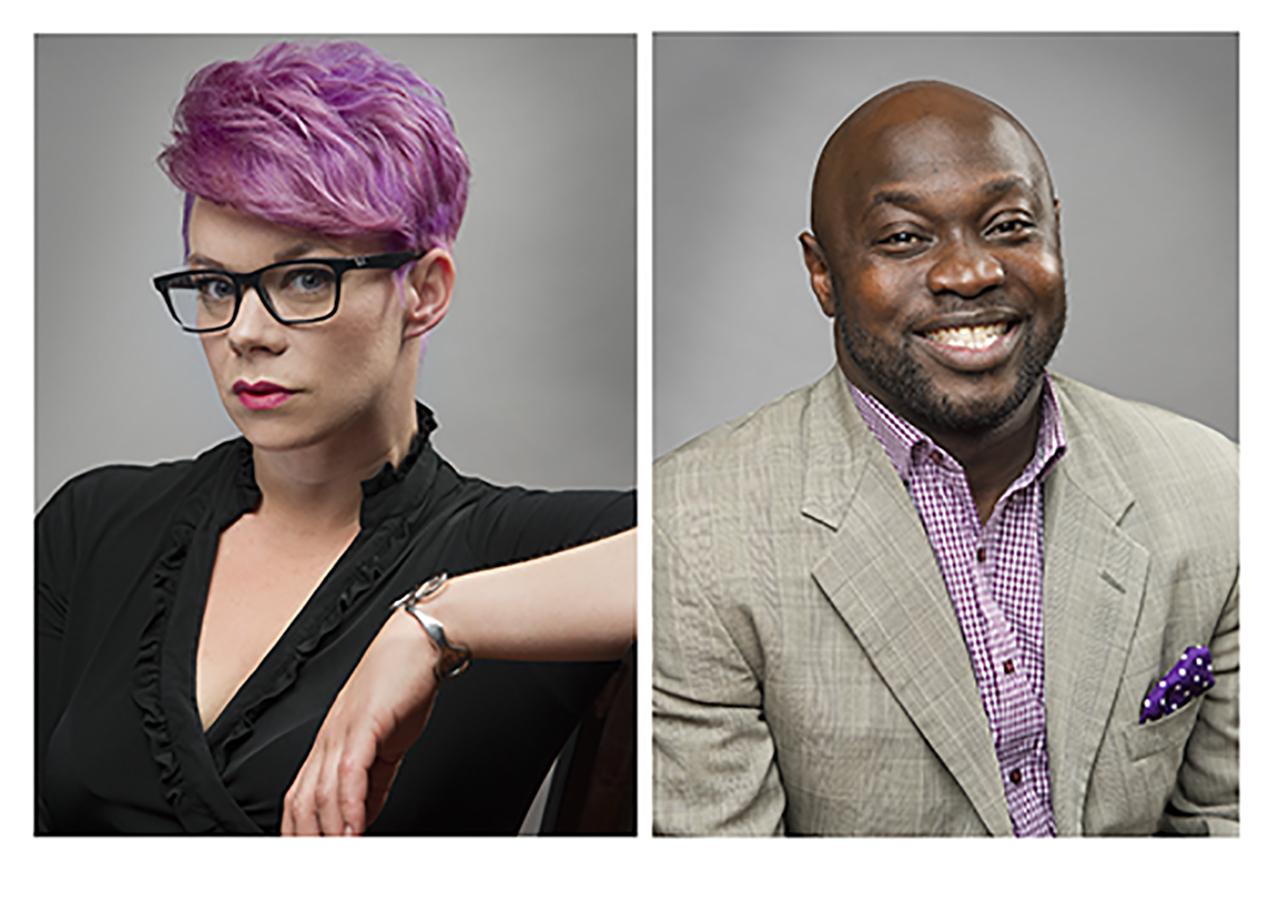 Hair Lab Founders Rodrick Samuels and Lauren Moser