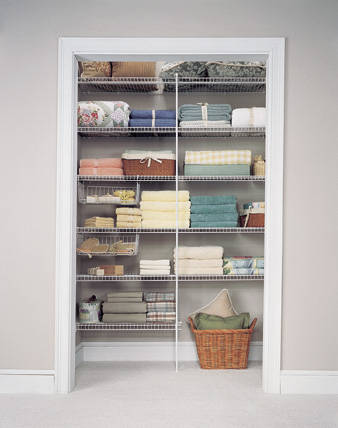 One day I will live in a place big enough to have a linen closet and that linen closet will be bursting.