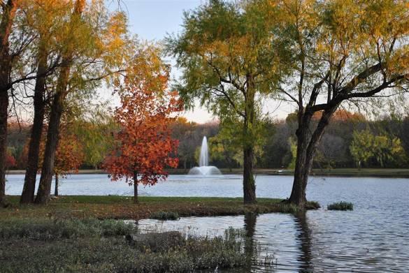 Town Lake in McKinney, TX